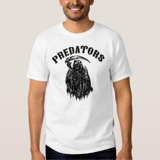 Camiseta de los depredadores polera