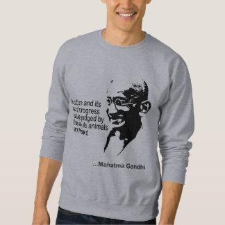 Camiseta de los derechos de los animales de sudaderas encapuchadas
