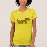 Camiseta de los derechos de los animales del respe
