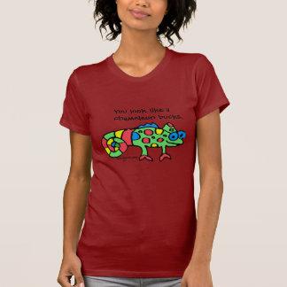 Camiseta de los dólares del camaleón