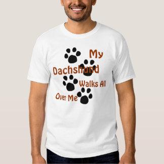 Camiseta de los dueños del Dachshund Poleras
