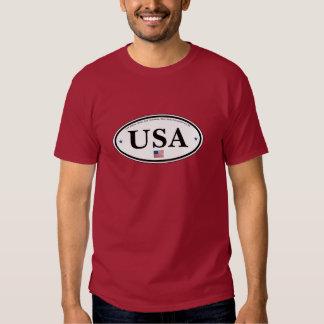 Camiseta de los E.E.U.U. Playeras