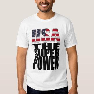 Camiseta de los E.E.U.U. Poleras