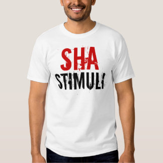 Camiseta de los estímulos de Sha Remeras