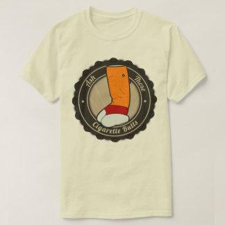 Camiseta de los extremos de cigarrillo poleras