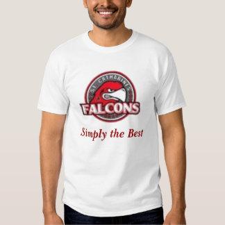 Camiseta de los Falcons del Jr. del St. Catharines Poleras