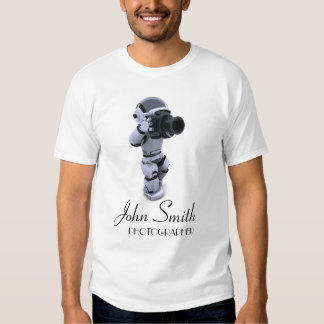 Camiseta de los fotógrafos playeras
