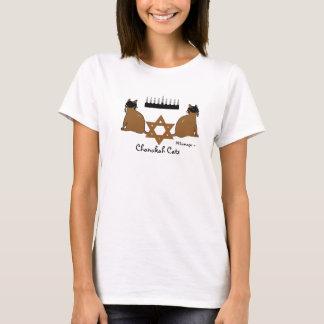 Camiseta de los gatos de Chanukah