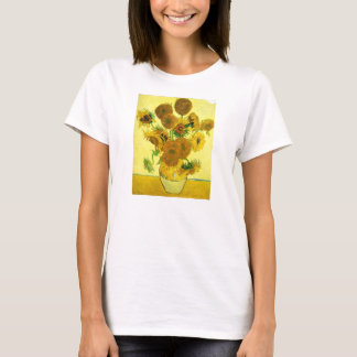 Camiseta de los girasoles de Van Gogh