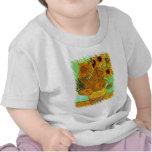 Camiseta de los girasoles de Van Gogh doce