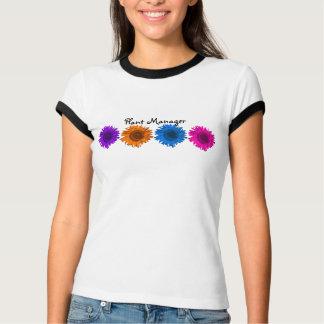 Camiseta de los girasoles del arte pop del remera
