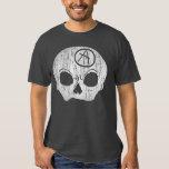 Camiseta de los grises brezos del carbón de leña poleras
