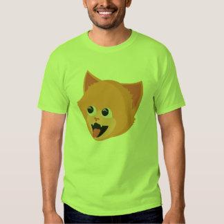 Camiseta de los hechos del gato playera
