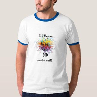 Camiseta de los hombres del campanero de Big Bang
