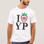 Camiseta de los hombres del logotipo de NYULYP