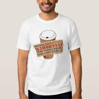 Camiseta de los individuos del combustible del poleras