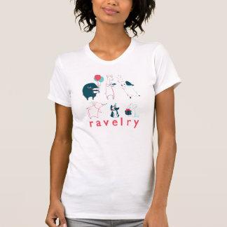 Camiseta de los juerguistas de la fibra