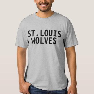 Camiseta de los lobos de St. Louis Remeras