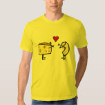 Camiseta de los macarrones con queso playera