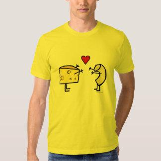 Camiseta de los macarrones con queso playeras