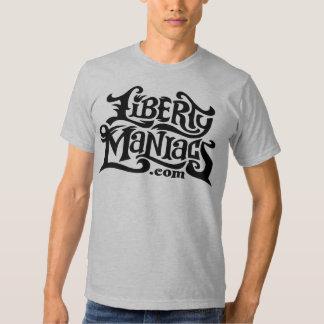 Camiseta de los maniacos de la libertad playera