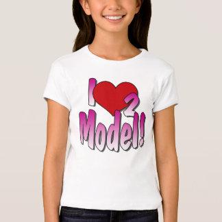 Camiseta de los modelos
