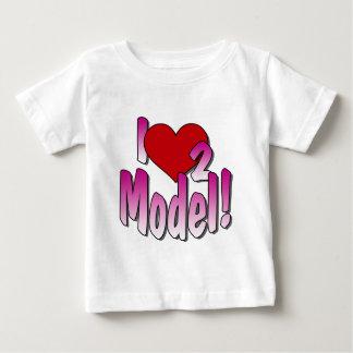 Camiseta de los modelos playera