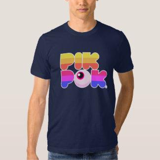 Camiseta de los monstruos de PikPok Polera