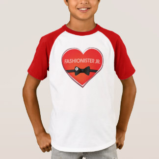 Camiseta de los muchachos del béisbol del Jr. de