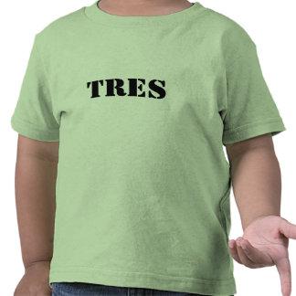 Camiseta de los múltiplos de TRES para los