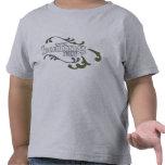 Camiseta de los niños (4X grises)