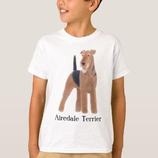 Camiseta de los niños de Airedale Terrier Poleras