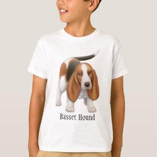 Camiseta de los niños de Basset Hound
