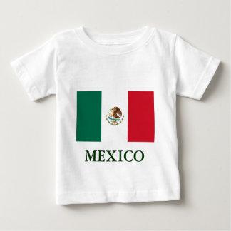 Camiseta de los niños de la bandera de México Polera