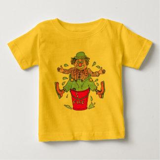 Camiseta de los niños de las alcaparras del payaso
