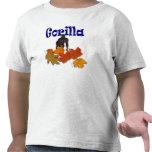 Camiseta de los niños de los animales salvajes del