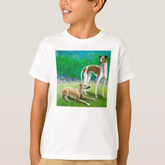 Camiseta de los niños de los galgos playeras