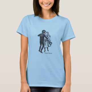 Camiseta de los niños del baile