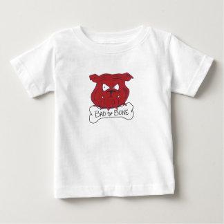 Camiseta de los niños del tatuaje: Malo al hueso