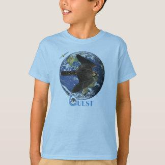 Camiseta de los niños del viaje de la búsqueda