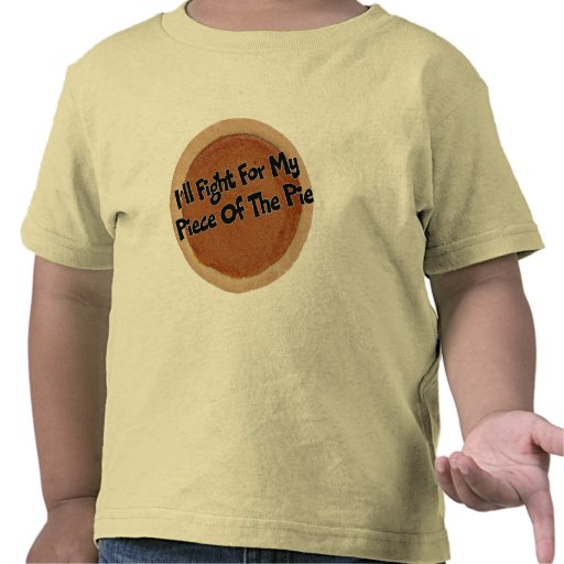 Camiseta de los niños - pastel de calabaza de la