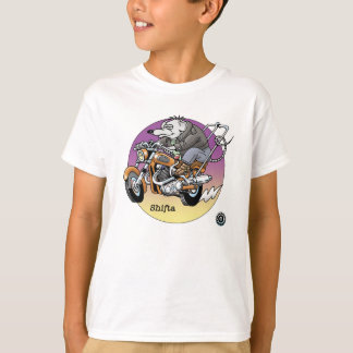 Camiseta de los niños - Shifta, motoristas es © de
