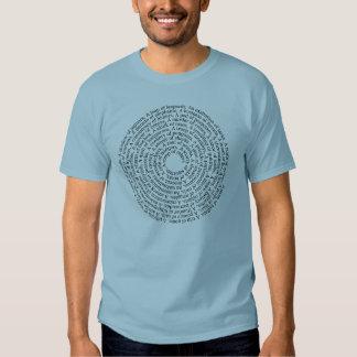 Camiseta de los nombres de grupo animal polera