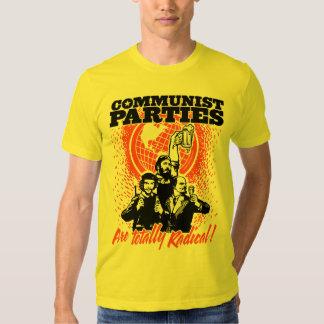 Camiseta de los Partidos Comunistas Playeras