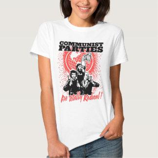 Camiseta de los Partidos Comunistas Poleras