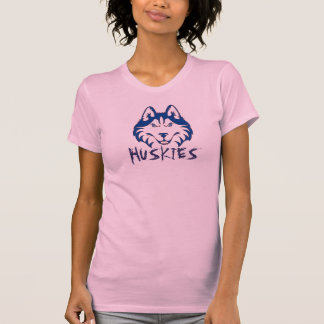 Camiseta de los perros esquimales de las señoras