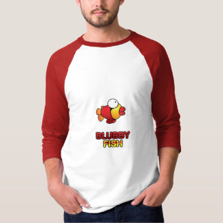 Camiseta de los pescados de Blubby Playera