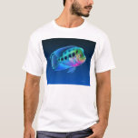 Camiseta de los pescados de Cichlid de Flowerhorn