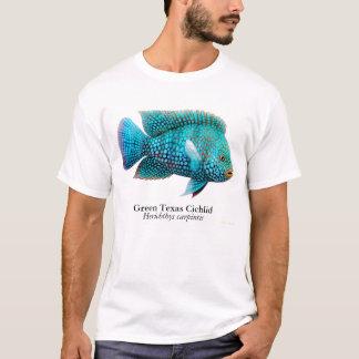 Camiseta de los pescados de Cichlid de Tejas