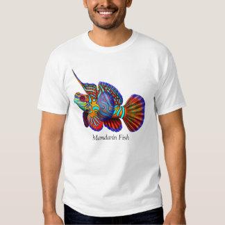 Camiseta de los pescados del gobio de Dragonet del Poleras